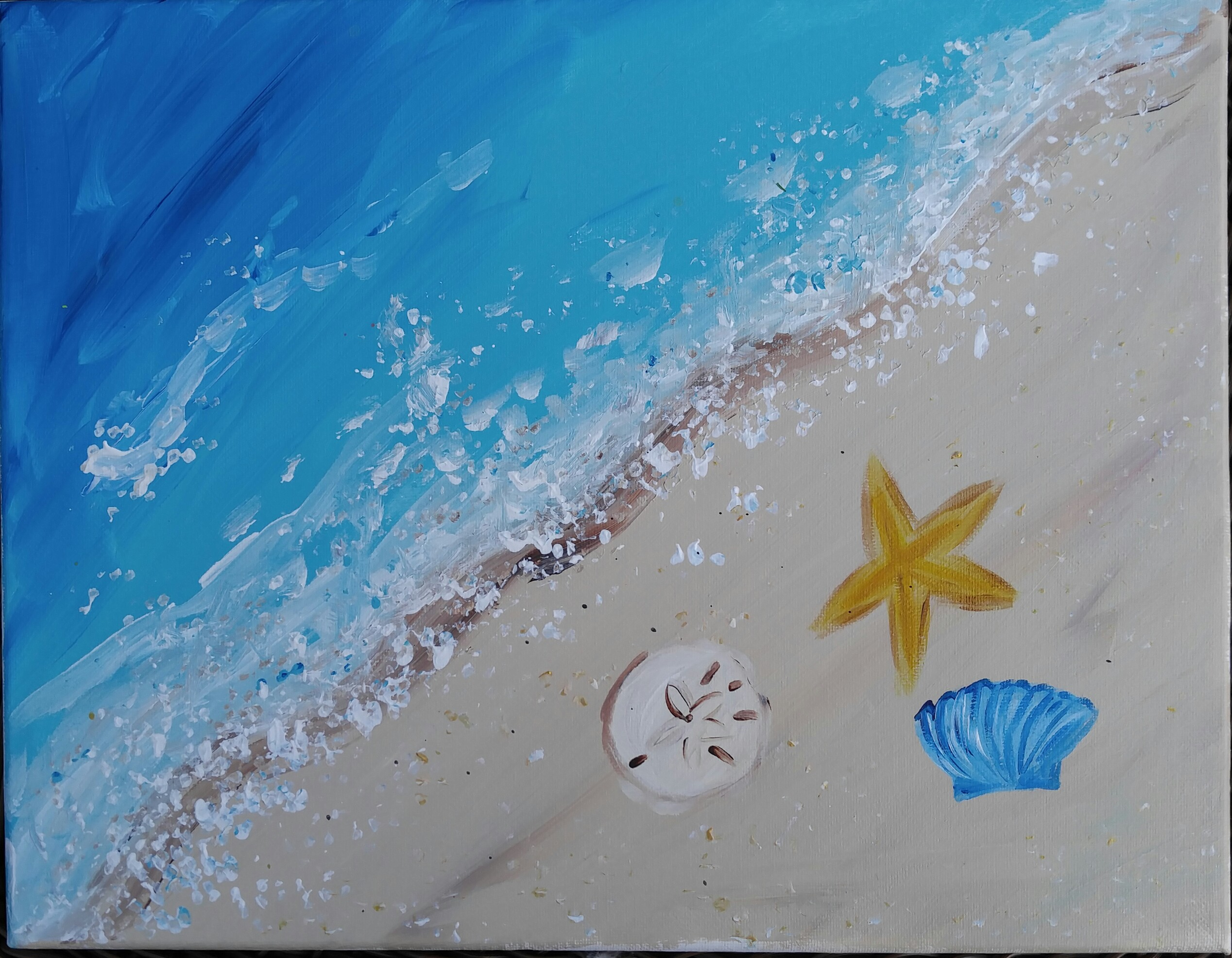 BEACH AND SEASHELLS
